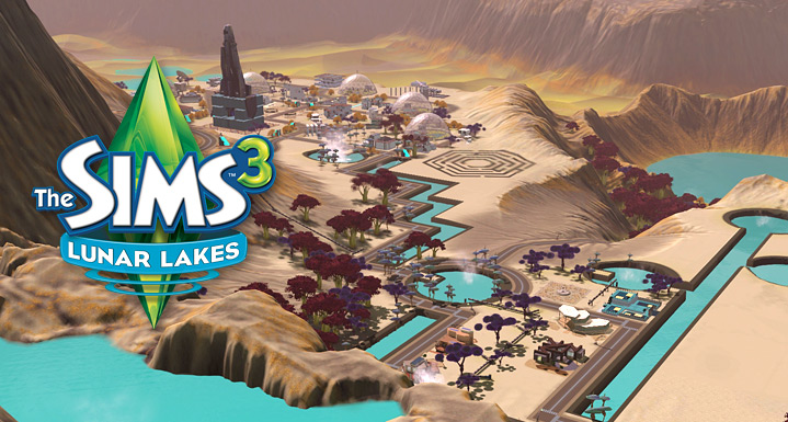 Lunar Lakes – Store – The Sims™ 3